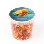 Попкорн с апельсином: orange-tin-відерко