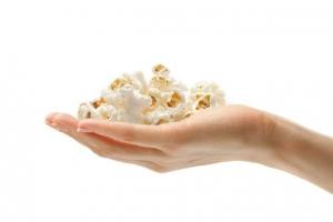 Попкорн как закуска с высоким уровнем антиоксидантов