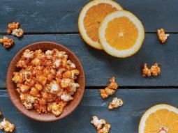 Попкорн з апельсином